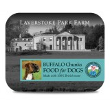 LAVERSTOKE: DOG: ORGANIC BUFFALO CHUNKS - 500g