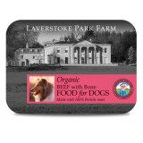 LAVERSTOKE: DOG: ORGANIC BEEF WITH BONE - 500g